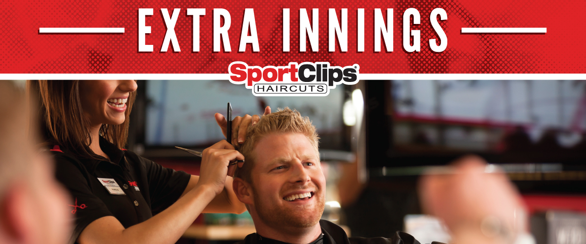 The Sport Clips Haircuts of Conroe Extra Innings Offerings