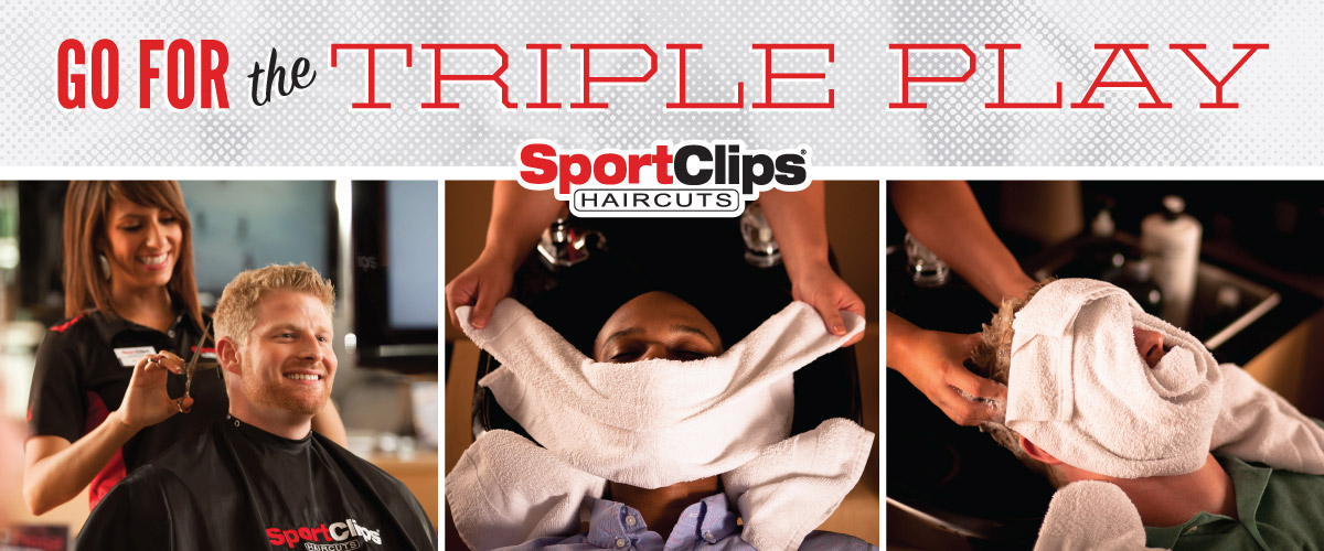 The Sport Clips Haircuts of Conroe Triple Play
